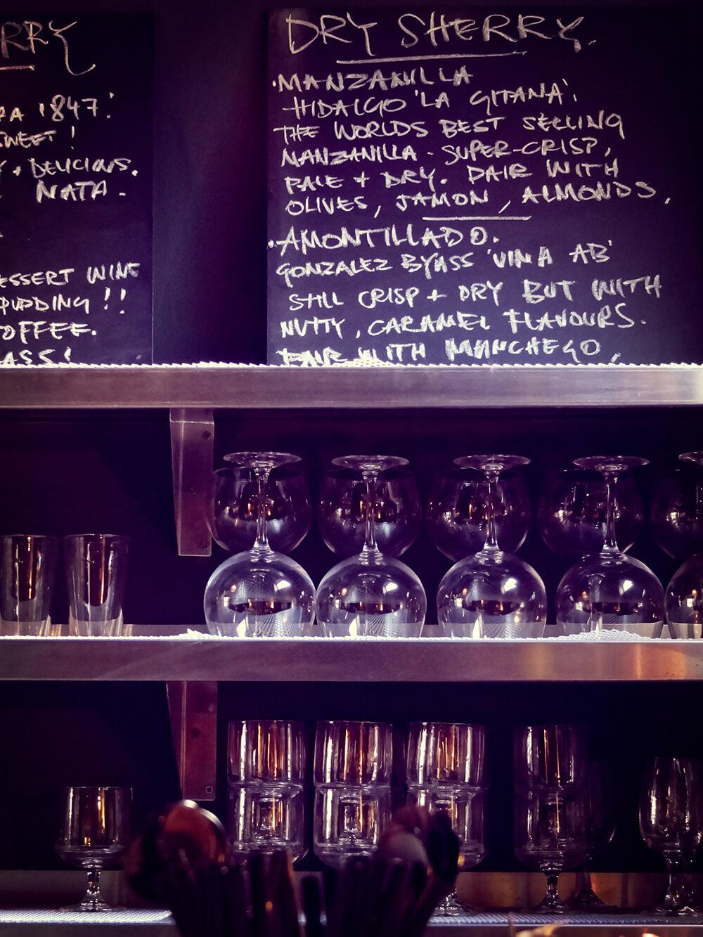 Porta Altrincham Sherry List