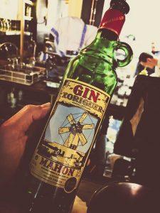 Xoriguer Gin bottle